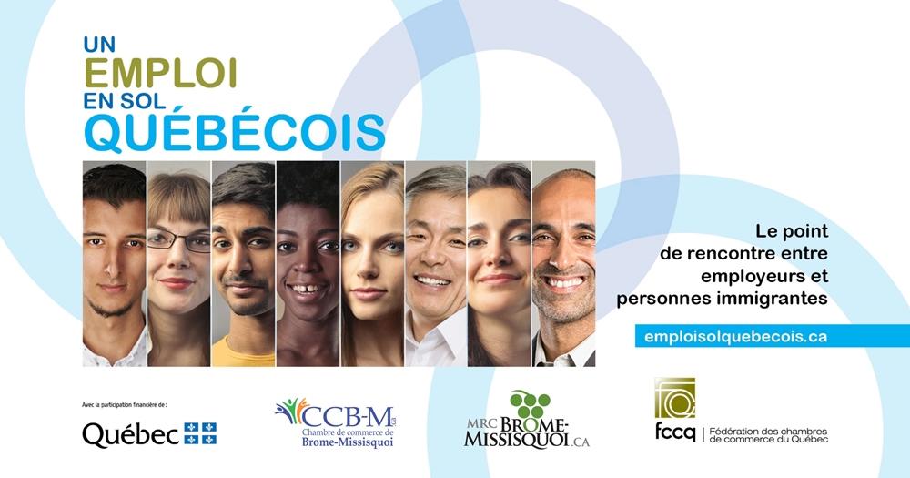 Bandeau Un emploi en sol québécois 2020
